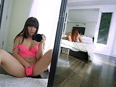 At such times I can not control myself, I just follow for my emotions. I caught my roommate while she was fucking with her boyfriend and got so horny, that I decided to spy on them, while rubbing my pussy... Join to enjoy this hot private video!