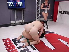 Today, busty babe, Bella Rossi, was determined to win, but in spite of all her expectations and efforts, her opponent, Cheyenne Jewel, was stronger and now, she is constrained to obey and fulfill all the wishes of the winner...