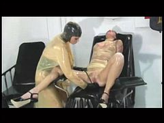 TheRC - Patient M Transparent Rubber Fisting & AnalDildoFuck
