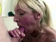 Horny MILF Teacher Seduce Young Boy to Fuck after Lesson