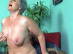 Hungarian Granny loves getting fucked hard