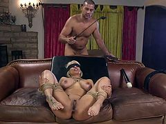 Honestly, this busty bombshell, Luna Star, loves to be dominated and her horny lover, Ramon Nomar, is always ready to satisfy her all crazy wishes. This time she gets her big bubble butt whipped and brutally fucked. Join!