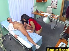 Numb patient drilled hard by doctor