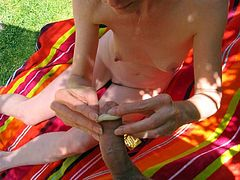 Love story. Mature Ann is good with shaved and unshaved puss