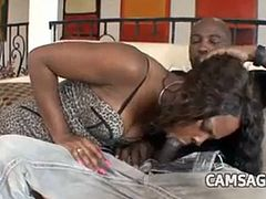 She caught her father with her sister turns 3some - Part 1 - Full video on Camsaga.com