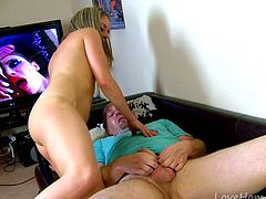Porn Turns Blonde Into Cock-Craving Nympho