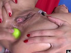 Alysa Gap enjoys hard anal drilling