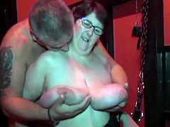 Busty Shaz at the Blackpool swingers club