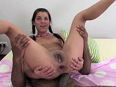 Angel Rivas First Interracial Anal