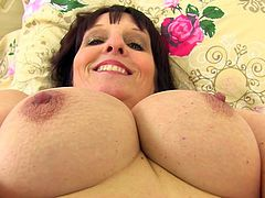 Just take a look at her big titties and you will not forget her any more. Did you ever had sex with a superhot mature? No? Then here is your chance to see how it would feel like. Pull your dick out of your pants and shove it deep into her itching mature cunt