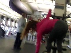 jacking at the gym 3
