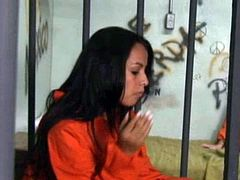 Shyla Stylez New Meat In Jail