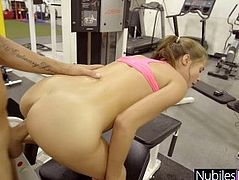 Unexpected Hard Fuck For Carolina Sweets - Gym Selfie S1:E5
