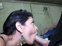 Today she decided to offer up her ass for the taking. See her bend over and show off her goods before letting him get a taste of her musk. Once is dick is out he fucks her ass and leaves her with a thick creampie.