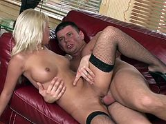 Adrianna Russo has her ass wasted during a remarkable cowgirl ride