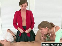 RealityKings - Moms Bang Teens - Darla Crane Maddy Oreilly X