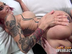 The bad girl is back to be even worse. And with worse we mean sexy, kinky, naughty and a bit of a nymphomaniac. But you should be happy about it, because Anna Bell is one quality sex partner. Her oral skills are extremely good, her huge tits beg to be fucked, her sweet pussy is wet and hot all the time. Oh... and believe us, she won't complain about headaches just to avoid sex... you will.