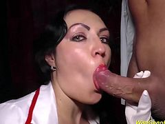 big breast milf nurse gets extreme wild anal banged at out groupsex fuck party