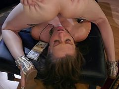 Shemale goddess Lena wants to feel the warm sensation of a pussy. The blonde tranny has never fucked a woman before. Watch them 69. The hot female licks ass and deepthroats lady dick until she gets filled with sperm.