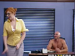 Brazzers   Big Tits at Work   Lauren Phillips Johnny Sins   The New Girl Part 1   Trailer preview