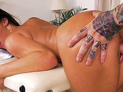 Amirah Adara Gets Fucked After Massage