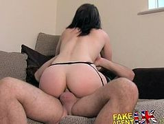 FakeAgentUK Sneaky anal fucking for amateur Brit in fake casting
