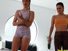 Cassidy Klein and her friend get to satisfy each other's cunts