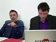 Brazzers   Big Tits at Work   Brooklyn Chase Keiran Lee   A Case of the Moan Days   Trailer preview