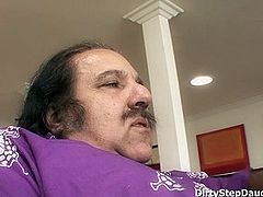 Stepdaughter Lynn Love Entices Dad Ron Jeremy To Fuck