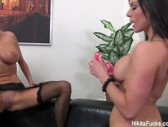Nikita Von James Fucks A Hot Brunette MILF