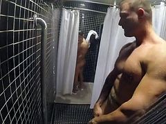 Cruising at Gym Showers