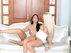 Blanche Bradburry and Carla Cruz in Straight To The Point
