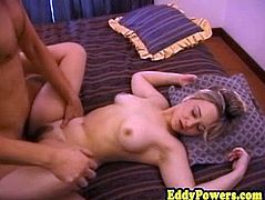Homemade retro sextape of amateur riding dick