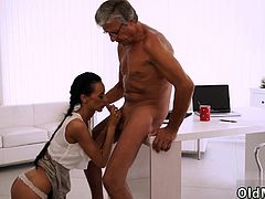 Old man anal ass and mature hardcore Finally she's got