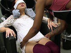 Dyked - Straight White Teen Seduced By Hot Hair Dresser