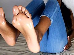 Beautiful Ebony Soles in Your Face