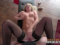 Vinna Reed loves to get it hard. Witness as she gets har daily portion of dick ...