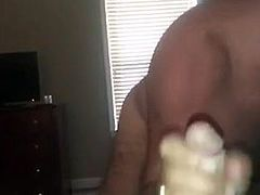 Sucking A Big Hairy Daddy Cock