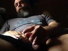 bearlicious playing with hairy cock