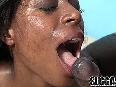 Small Tit Chocolate Slut Brandi Fox Is Fucked by a BBC