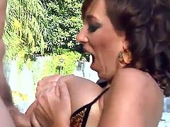 Nothing is as good for Alia Janine as getting her cunt fucked