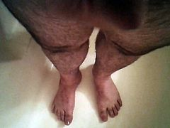 Piss On My Feet and Cum
