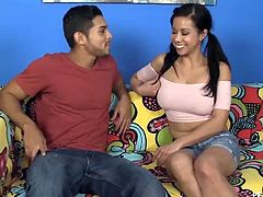 Asian Starved Nympho Swallows Your Cock Big Way