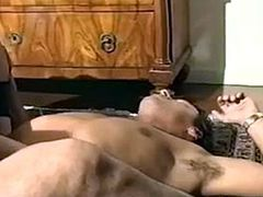 Blonde shemale Eva Ciccone fucking with two guys