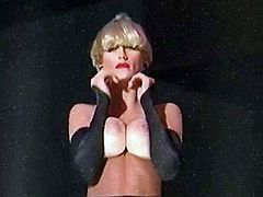 PURDEY STRIP - slim fit blonde strip dance tease