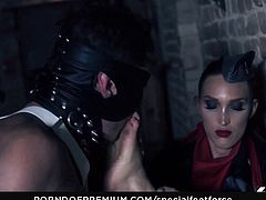 SPECIAL FEET FORCE - Hot fetish BDSM sessions with hot German slaves and feet loving guards