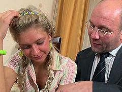 Sweetheart gets her lovely bawdy cleft ravished by teacher