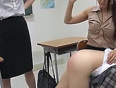 Japanese angels spanked5