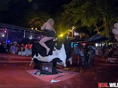 Wildest Bull Riding Sluts Fantasy Fest 2018