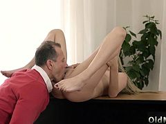 Having fun with daddy and meets old girlcompeer Stranger